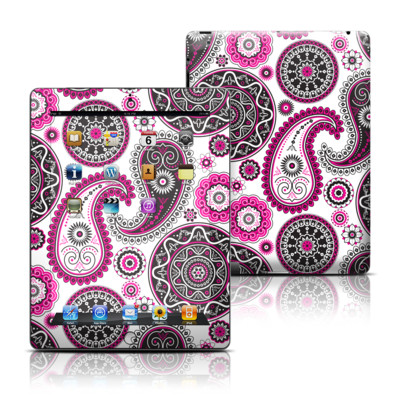 Apple iPad 3 Skin - Boho Girl Paisley