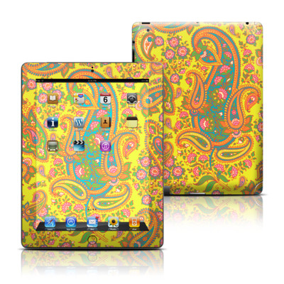 Apple iPad 3 Skin - Bombay Chartreuse