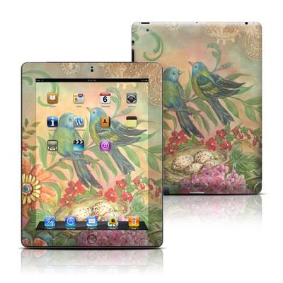 Apple iPad 3 Skin - Splendid Botanical