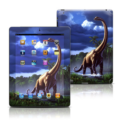 Apple iPad 3 Skin - Brachiosaurus
