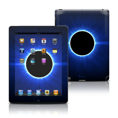 Apple iPad 3 Skin - Blue Star Eclipse