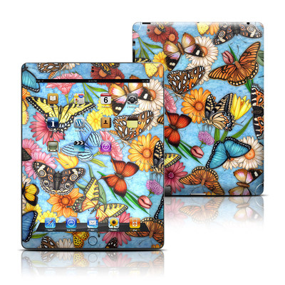 Apple iPad 3 Skin - Butterfly Land