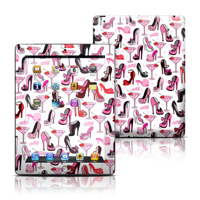 Apple iPad 3 Skin - Burly Q Shoes