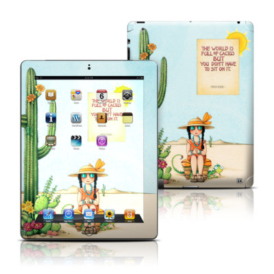 Apple iPad 3 Skin - Cactus