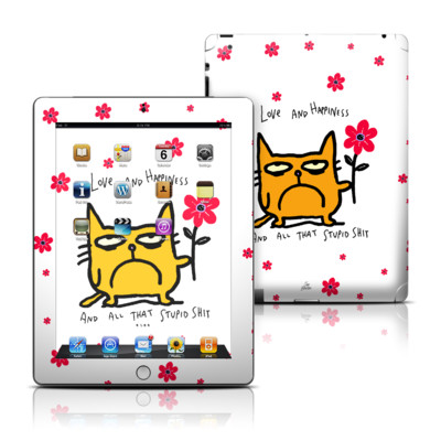 Apple iPad 3 Skin - Catwad Happy