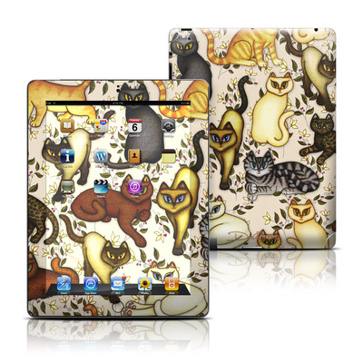 Apple iPad 3 Skin - Cats