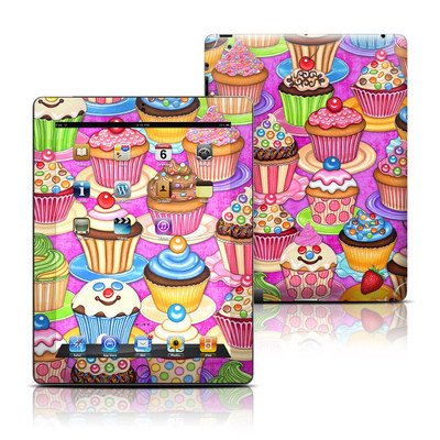 Apple iPad 3 Skin - Cupcake