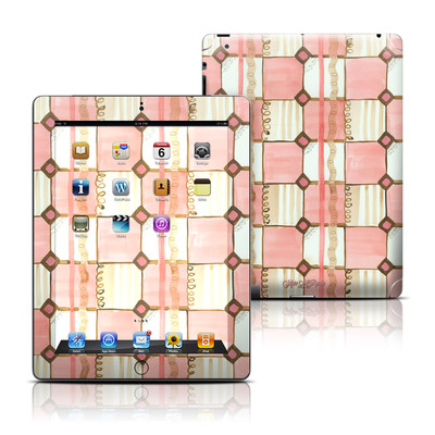 Apple iPad 3 Skin - Chic Check