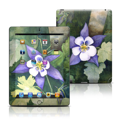 Apple iPad 3 Skin - Colorado Columbines