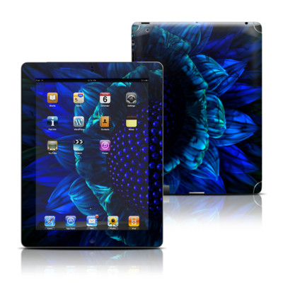 Apple iPad 3 Skin - Cobalt Daisy