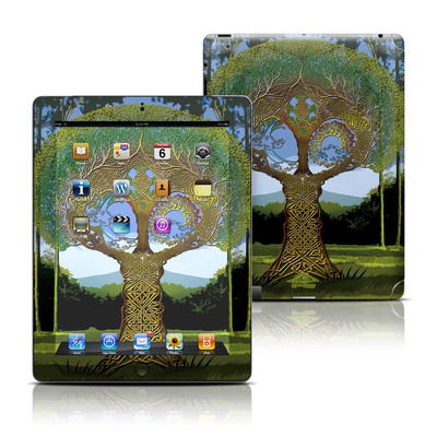 Apple iPad 3 Skin - Celtic Tree