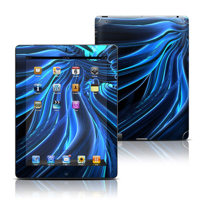 Apple iPad 3 Skin - Cerulean