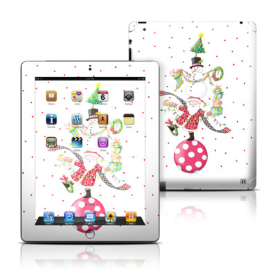 Apple iPad 3 Skin - Christmas Circus