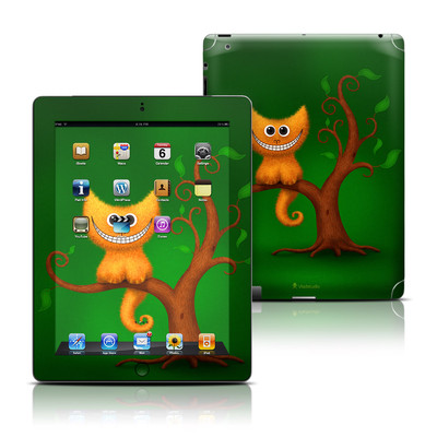 Apple iPad 3 Skin - Cheshire Kitten