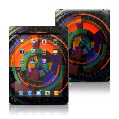 Apple iPad 3 Skin - Color Wheel