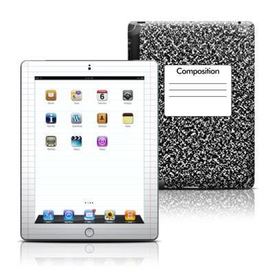 Apple iPad 3 Skin - Composition Notebook