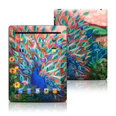 Apple iPad 3 Skin - Coral Peacock