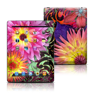 Apple iPad 3 Skin - Cosmic Damask