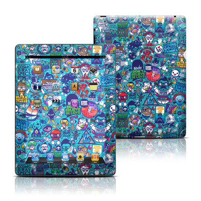 Apple iPad 3 Skin - Cosmic Ray