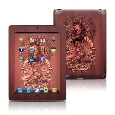 Apple iPad 3 Skin - If Looks Could Kill