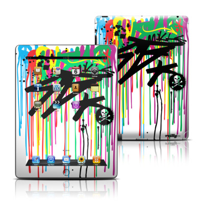 Apple iPad 3 Skin - Colour Rain