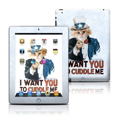 Apple iPad 3 Skin - Cuddle Me