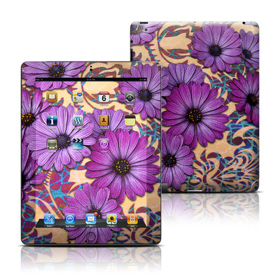 Apple iPad 3 Skin - Daisy Damask