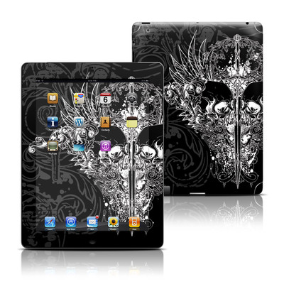 Apple iPad 3 Skin - Darkside
