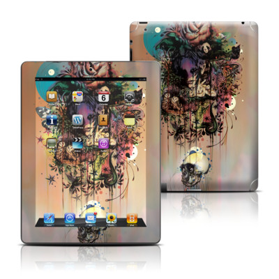 Apple iPad 3 Skin - Doom and Bloom