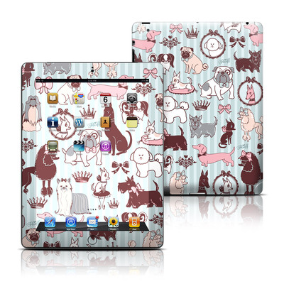 Apple iPad 3 Skin - Doggy Boudoir