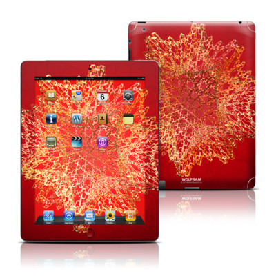 Apple iPad 3 Skin - Dodecahedron Cage