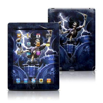 Apple iPad 3 Skin - Death Drummer