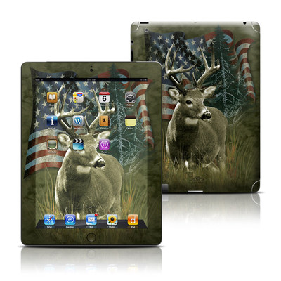 Apple iPad 3 Skin - Deer Flag