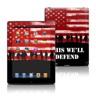 Apple iPad 3 Skin - Defend