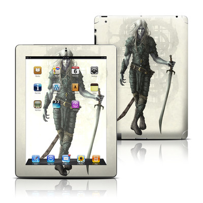 Apple iPad 3 Skin - Dark Elf