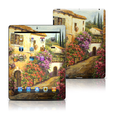 Apple iPad 3 Skin - Via Del Fiori