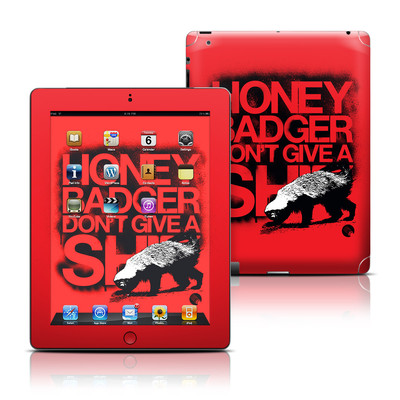 Apple iPad 3 Skin - Don't Give A