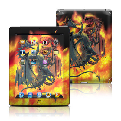 Apple iPad 3 Skin - Dragon Wars