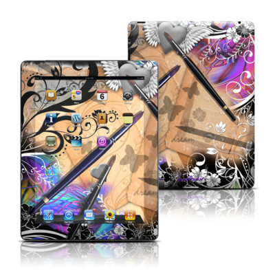 Apple iPad 3 Skin - Dream Flowers