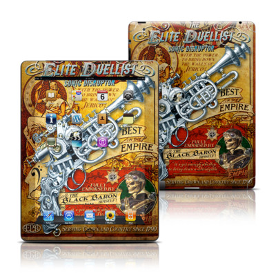 Apple iPad 3 Skin - The Duelist