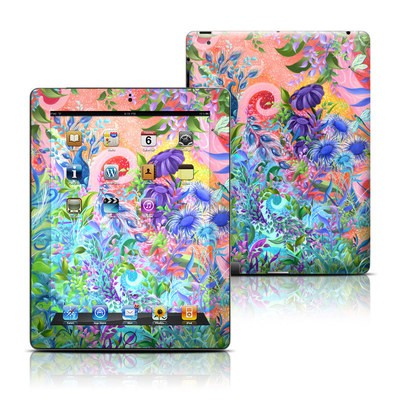 Apple iPad 3 Skin - Fantasy Garden