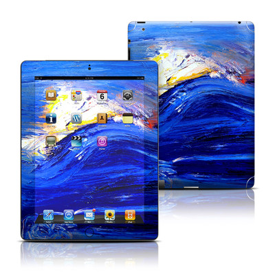Apple iPad 3 Skin - Feeling Blue