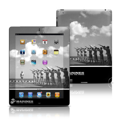 Apple iPad 3 Skin - The Few The Proud