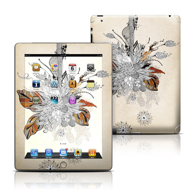 Apple iPad 3 Skin - Fall Floral