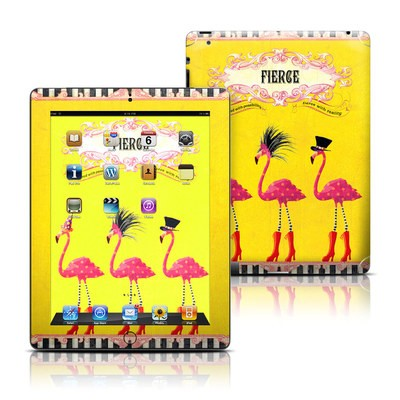 Apple iPad 3 Skin - Fierce