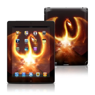 Apple iPad 3 Skin - Fire Dragon