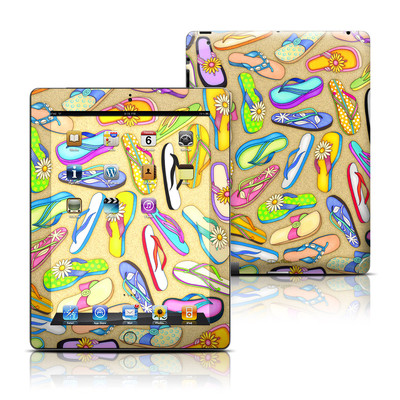 Apple iPad 3 Skin - Flip Flops