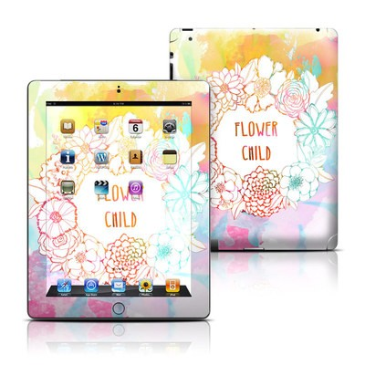 Apple iPad 3 Skin - Flower Child
