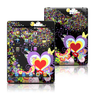 Apple iPad 3 Skin - Flower Cloud