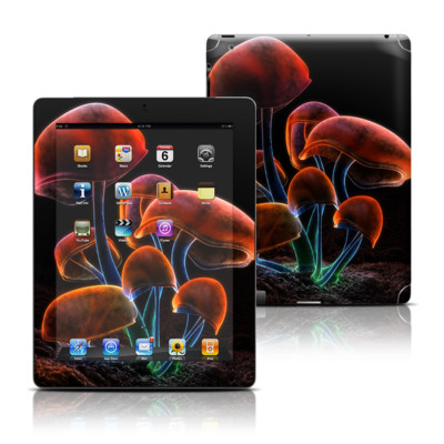 Apple iPad 3 Skin - Fluorescence Rainbow